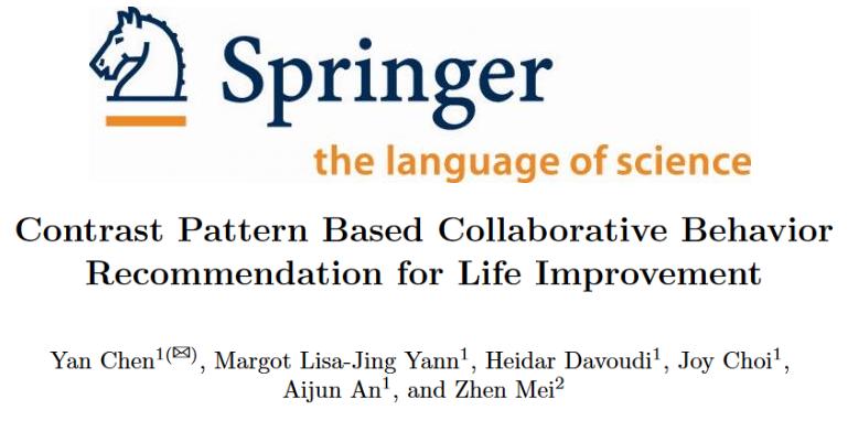 Springer Contrast Pattern