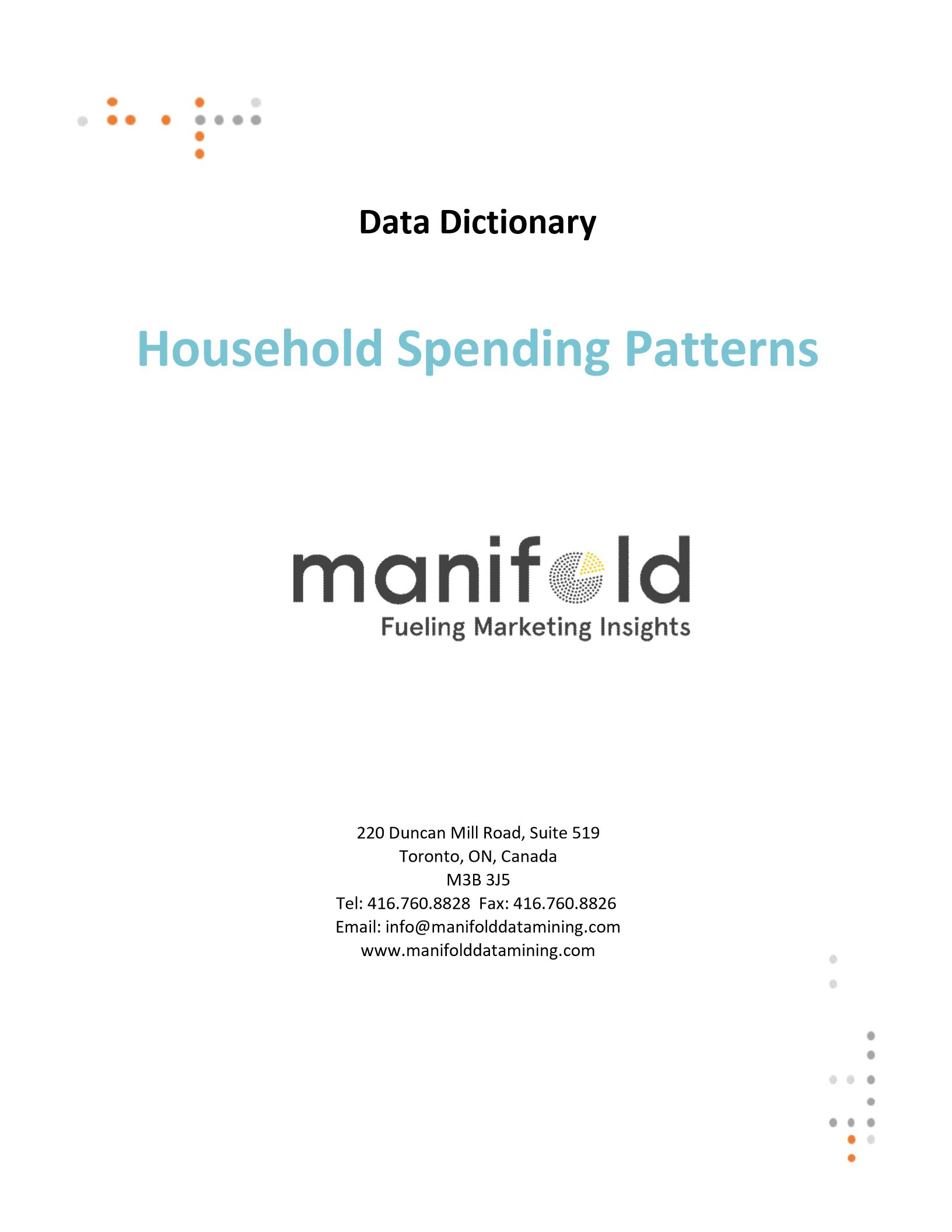 Household Spending Patterns