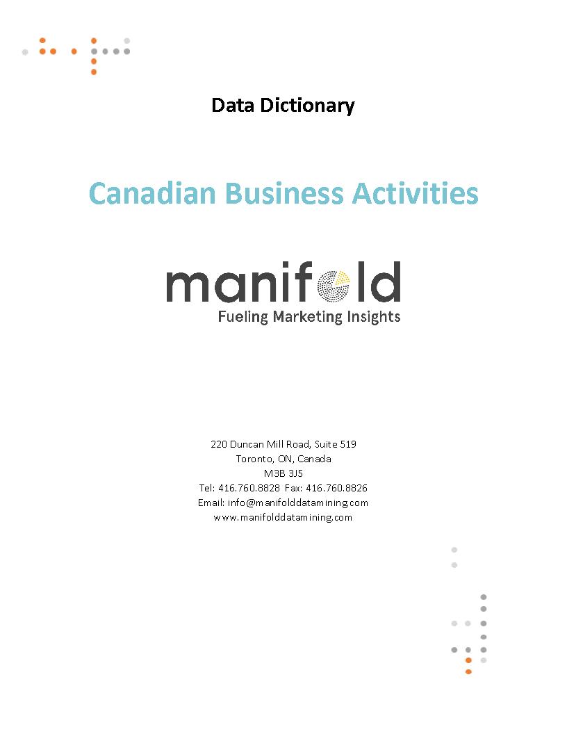 Canadian Business Activities