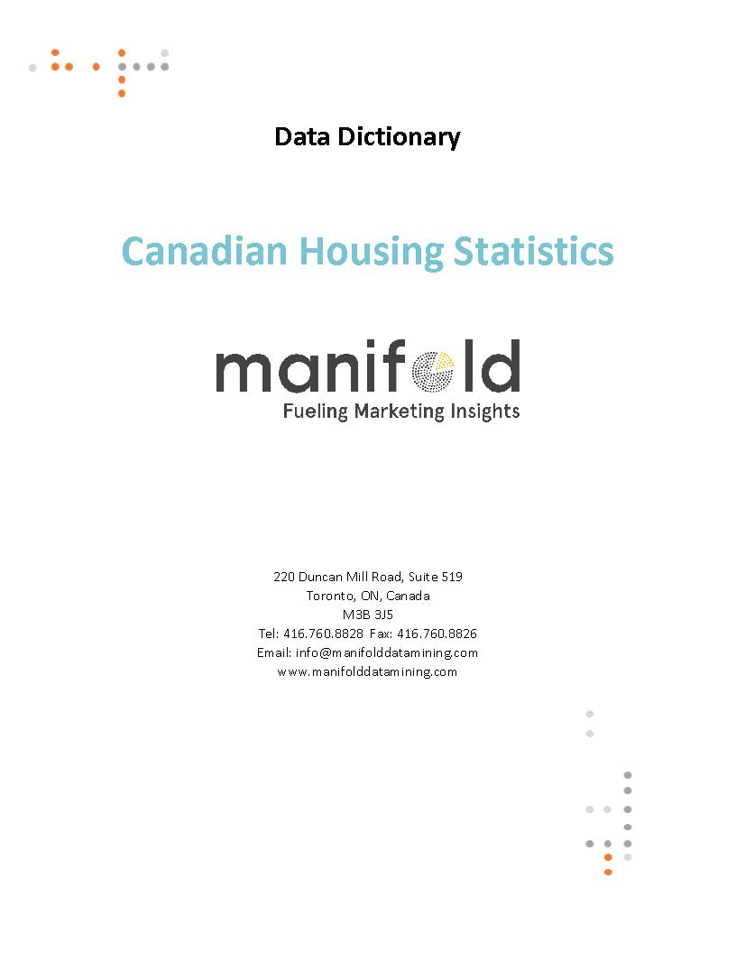 Canadian Housing Statistics