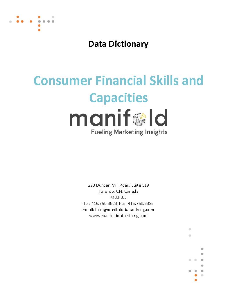 Consumer Financial Skills and Capacities