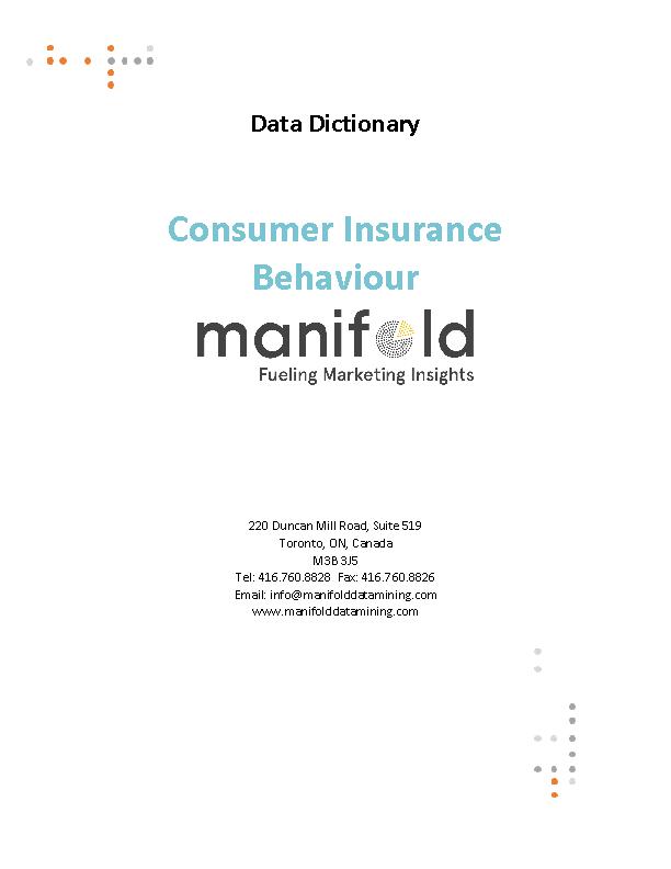 Consumer Insurance Behaviour
