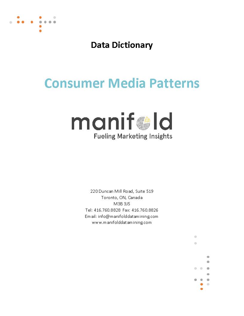 Consumer Media Patterns